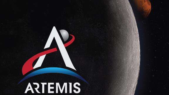 The Artemis program logo.