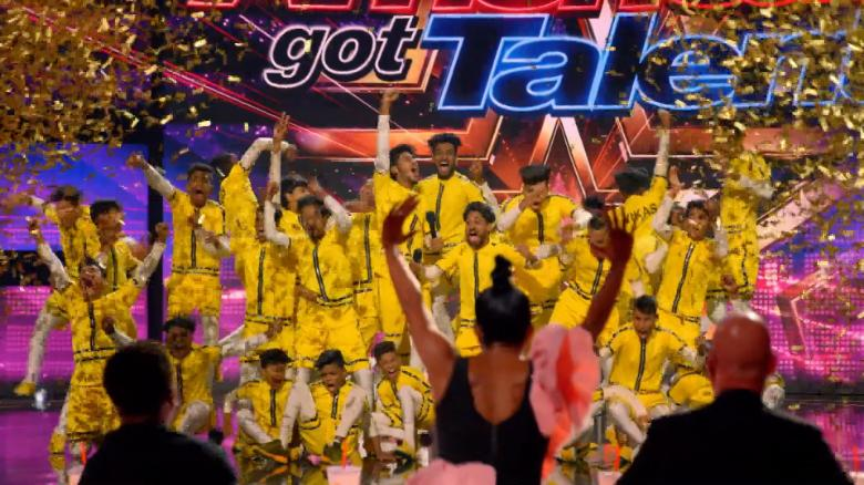 Indian dance crew wows 'America's Got Talent'