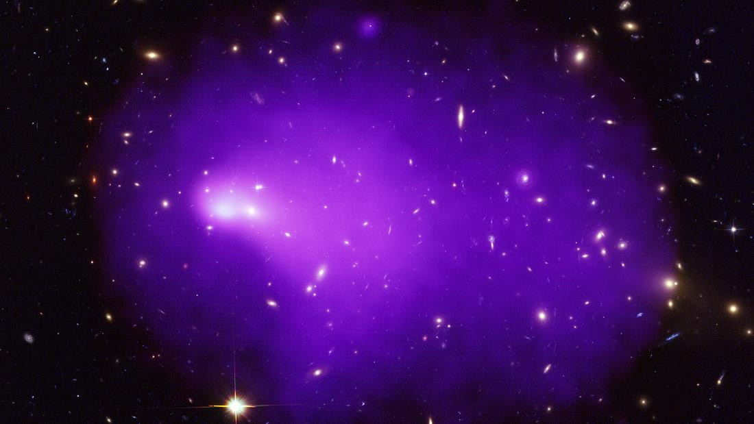 Abell 2146 is the result of a collision between two galaxy clusters, creating an even larger system.