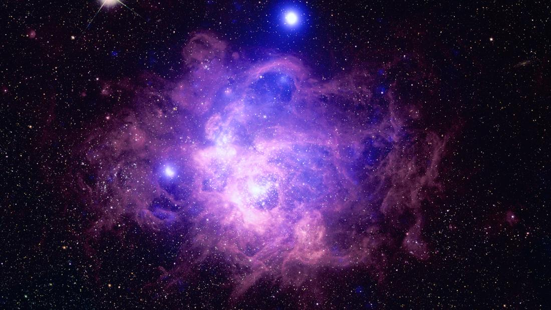 The Messier 33 galaxy has a star-forming region, known as NGC 604, full of 200 hot and young massive stars.