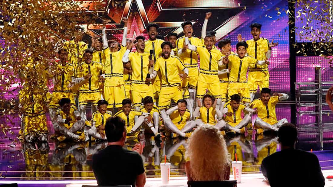 America S Got Talent Dance Crew Honors Friend And Gets Golden