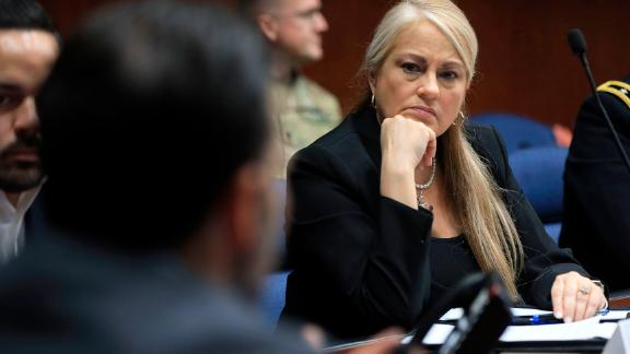 Puerto Rico Secretary of Justice Wanda Vazquez Garced is next in line to the governorship if Governor Ricardo Rosselló leaves office.