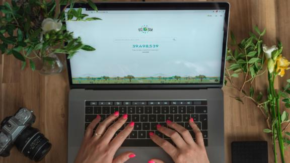 Ecosia has planted some 75 million trees since it was founded in 2009.