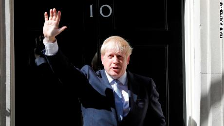 First full-time Boris Johnson as Prime Minister of the United Kingdom