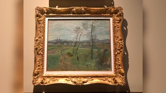 A painting by French impressionist Claude Monet was recovered by police.