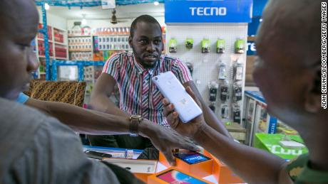 Africa's favorite smartphone maker wants in on China's hot new tech market