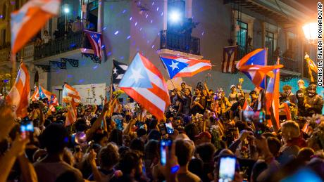 Private leaked texts, massive protests and a governor's downfall: A timeline of Puerto Rico's political unrest