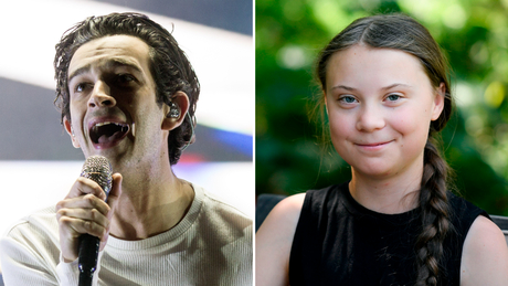 Greta Thunberg has recorded a song with The 1975 calling for a climate change rebellion