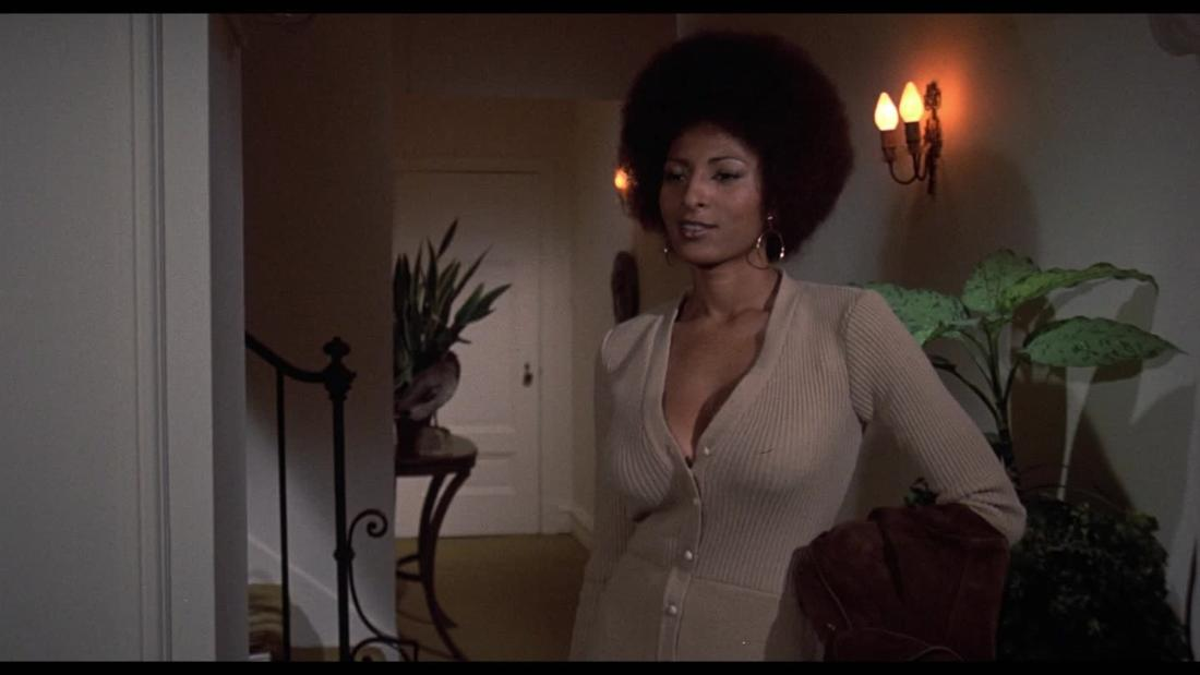 Pam Grier as a '70s sex symbol and feminist