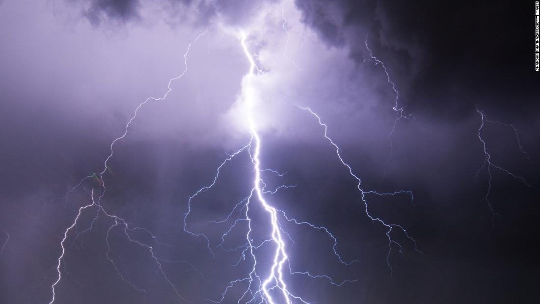 9 injured after a tree falls on tent during Pennsylvania lightning strike