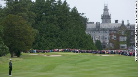 Adare Manor in Limerick will host the 2026 Ryder Cup.