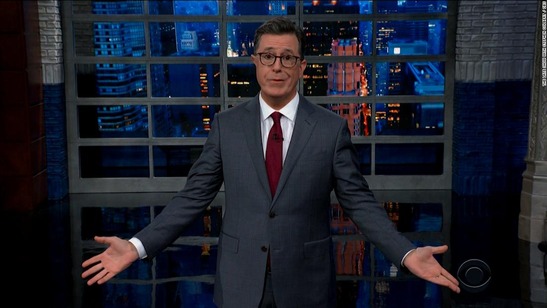 Opinion: Colbert wormed his way into Trump's head