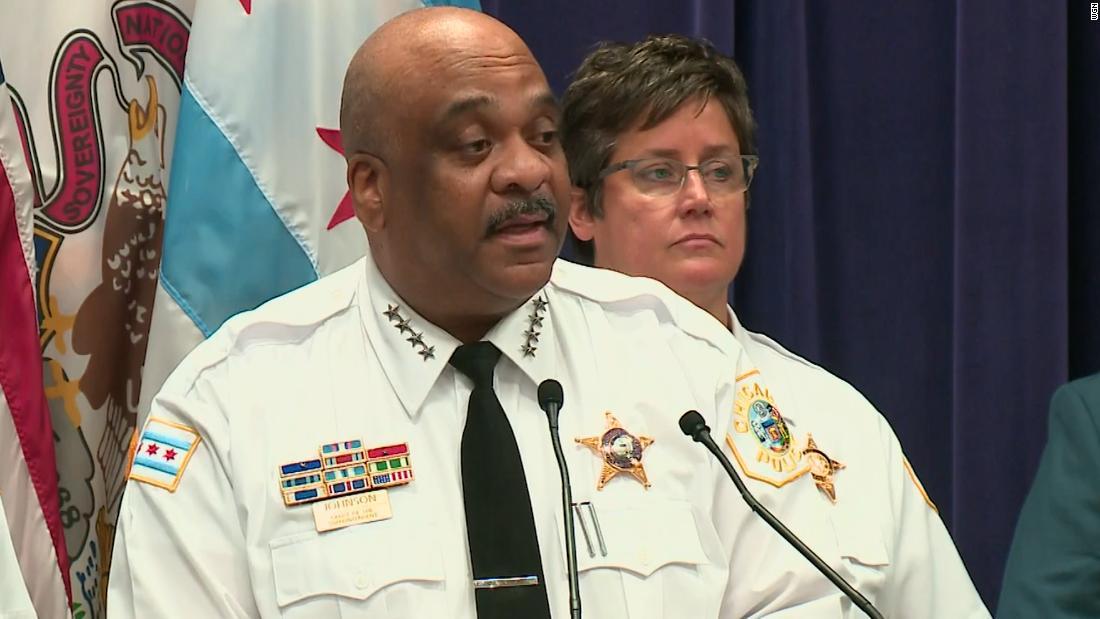 A 14-year Chicago police veteran has filed a civil suit against former Superintendent Eddie Johnson – CNN