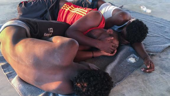 The UN refugee agency and the International Rescue Committee say up to 150 may have perished at sea off the coast of Libya.