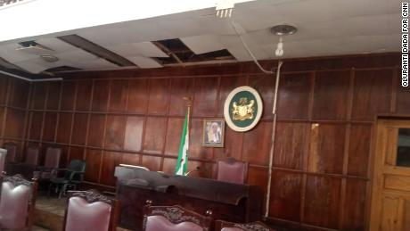 The legislative chamber in Nigeria's Ondo State