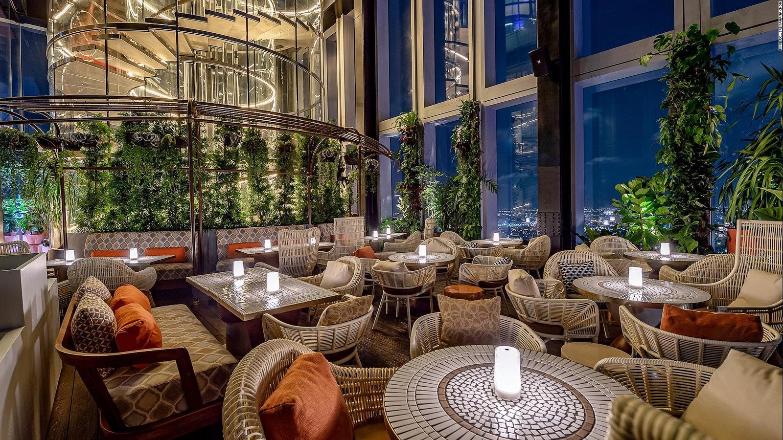 Mahanakhon Bangkok Skybar Thailand S Highest Restaurant