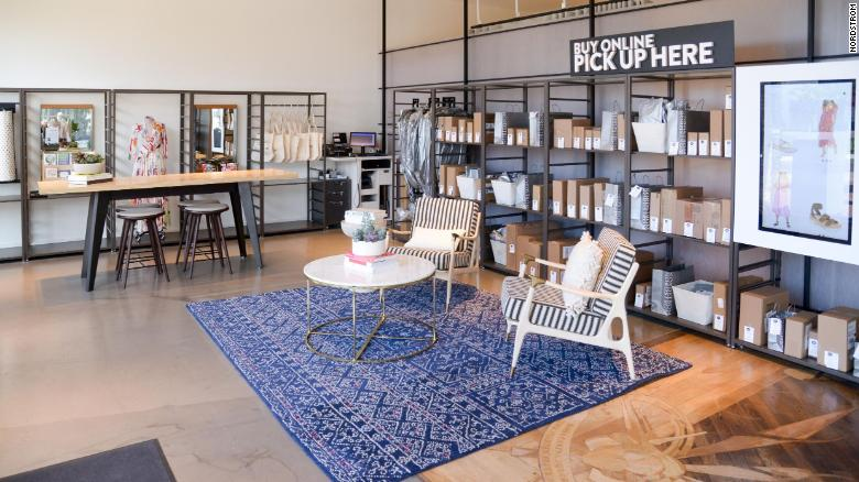 Nordstrom Local in Melrose doesn't carry inventory. Nordstrom has three Local stores in Los Angeles and is slated to open its first two in New York City in September.