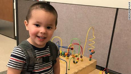 The remains of Aiden Castiel Salcido, 2, have been found in Montana, police said.