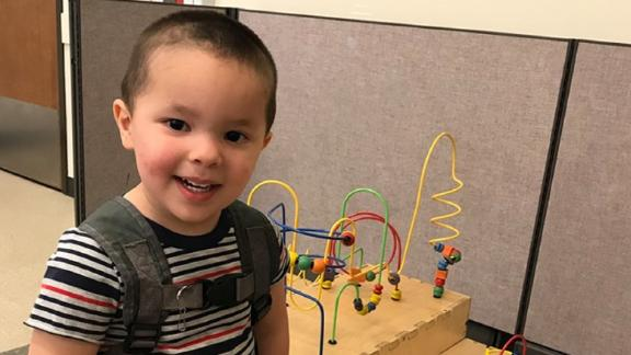 Police say  Aiden Castiel Salcido, 2, is missing and could be anywhere between Oregon and Montana.