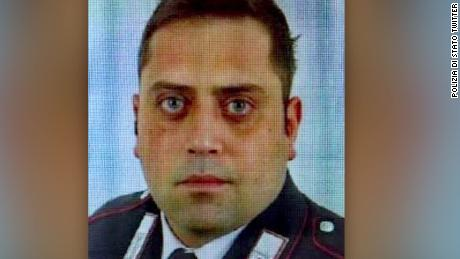 Italian police officer Mario Cerciello Rega was killed on Friday in Rome.