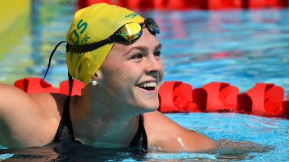 Australia's Shayna Jack was hoping to win a medal at the World Swimming Championships in Gwangju, South Korea.