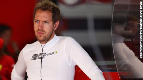 F1: Sebastian Vettel to start from back of the grid at German Grand Prix after turbo failure