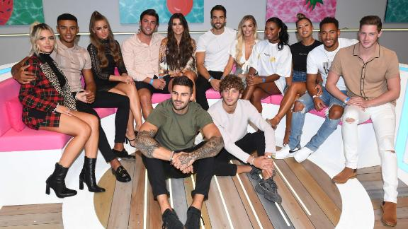 """The cast of last year's """"Love Island."""""""