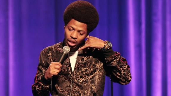 """<strong>""""Mike E. Winfield: StepMan""""</strong>: Who says you can't get along with stepkids? Mike E. Winfield explains the challenges of marrying an older woman and being a stepfather to a son with whom he shares similar qualities in this one hour comedy special. <strong>(Amazon Prime) </strong>"""