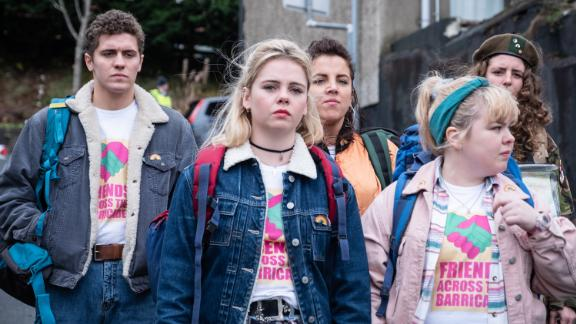 """<strong>""""Derry Girls"""" Season 2</strong>: Change may finally be coming to Northern Ireland. But the high school hardships of Erin and her friends show no signs of letting up. <strong>(Netflix) </strong>"""
