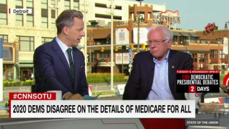 Sanders: Biden 'disingenuous' about Medicare for All