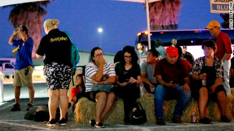 Festivalgoers were transported to a reunification center at Gavilan College after shooting.