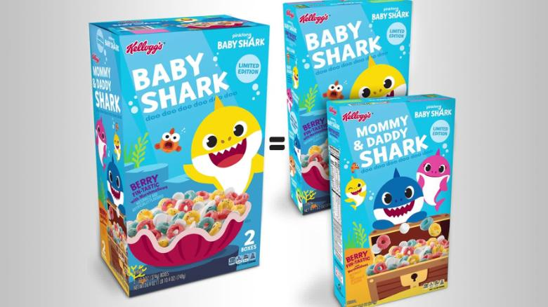 'Baby Shark' gets turned into a cereal