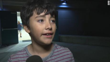 7-year-old boy on shooting: I thought I was gonna die