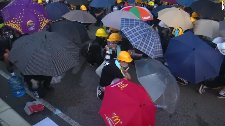 Hong Kong's protests starting to hurt its economy