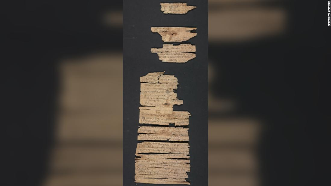 A rare 2,000-year-old scroll about the early years of Buddhism is made public