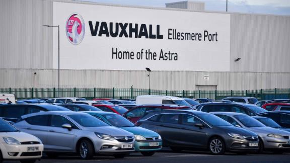 Automobiles sit in the car park at the Vauxhall production line plant and distribution center in Ellesmere Port, U.K., on Monday, Nov. 6, 2017. PSA Group Chief Executive Officer Carlos Tavares will lay out a strategy to revive the struggling Opel and Vauxhall brands, which PSA bought with the aim of creating a European automotive champion to challenge Volkswagen AGs dominance. Photographer: Anthony Devlin/Bloomberg via Getty Images