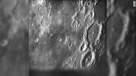 The first image returned by Ranger 7.