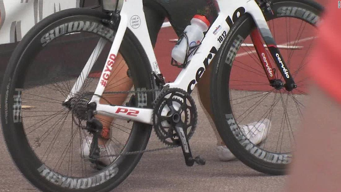Ironman cyclist dies in race after she was hit by truck