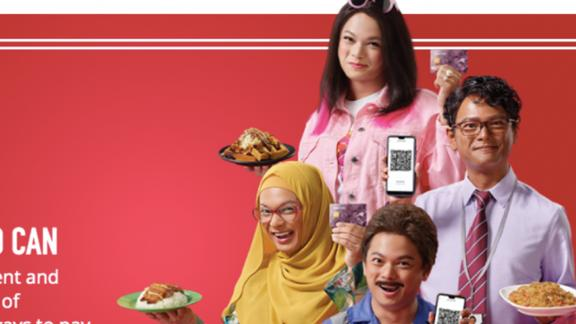 A government ad in Singapore featured an actor dressed as characters of different races.