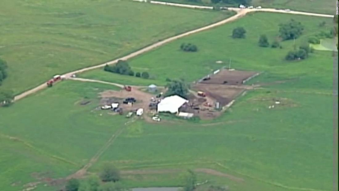 A man was charged with the murder of two Wisconsin brothers who visited his farm