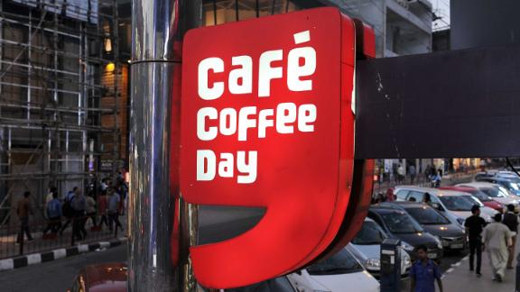 Café Coffee Day has more than 1,700 outlets across India.