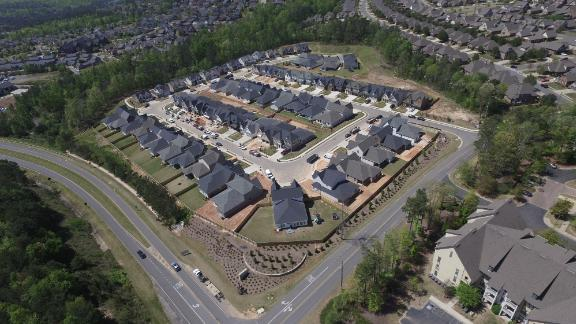 The smart neighborhood in the suburbs of Birmingham, Alabama envisages what homes will look like in 2040