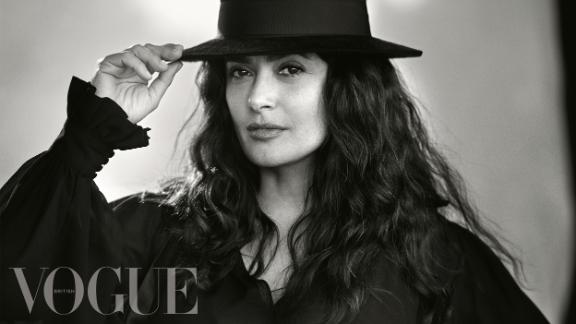 Salma Hayek collaborated with Duchess of Sussex Meghan Markle for British Vogue