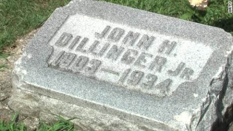 John Dillinger is buried at the Crown Hill Cemetery in Indianapolis.