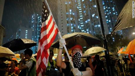 Girl, 16, among 44 people charged with rioting in Hong Kong protests
