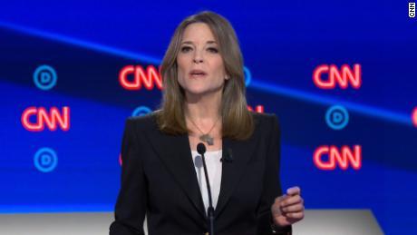 marianne williamson 2020 cnn democratic primary debate