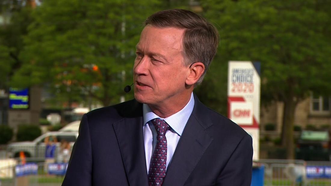 Hickenlooper keeping his options open on Senate run as presidential bid struggles