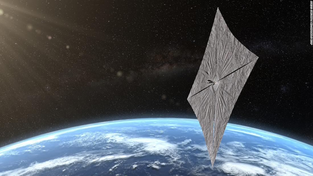 Bill Nye's experimental spacecraft that sails on sunlight declares mission success