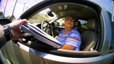 Woman hit with stun gun after fleeing taillight ticket