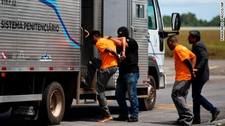 Prisoners allegedly involved in a prison riot in Altamira were being transferred to a different facility.